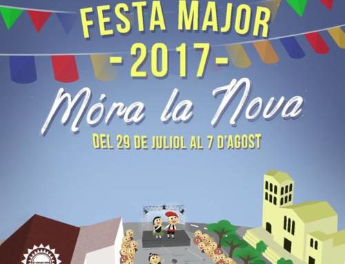 Móra la Nova enceta aquest divendres una setmana plena d'activitats, preàmbul de les Festes Majors