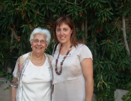 Aurora Marqués, de Móra la Nova, es proclama avia comarcal a la Ribera d'Ebre