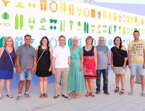 Projecte Mural 2019 a les piscines de Móra la Nova