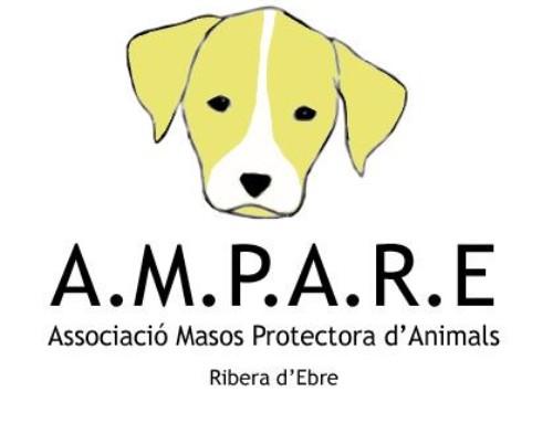 Els gossos de l'AMPARE sortiran a la Plaça de l'Església aquest cap de setmana