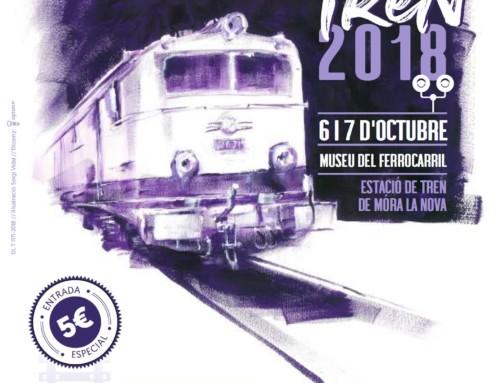 La Festa del Tren torna a Móra la Nova aquest cap de setmana