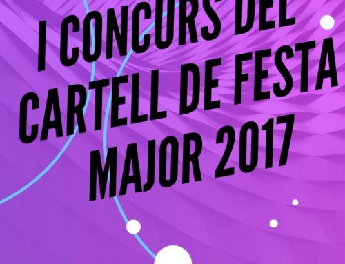 I Concurs del cartell de Festa Major