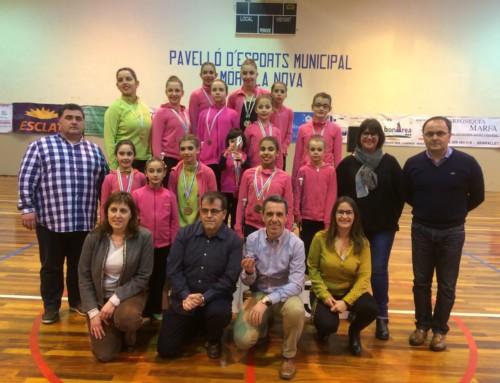 Aquest diumenge dia 5 de febrer es va disputar la 1a fase de dansa aquí Móra la Nova amb un èxit rotund tant a nivell esportiu com participatiu