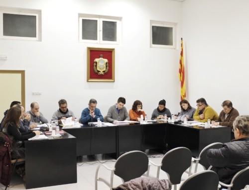PDeCat i PSC tomben els pressupostos pel 2019 de l'Ajuntament de Móra la Nova.
