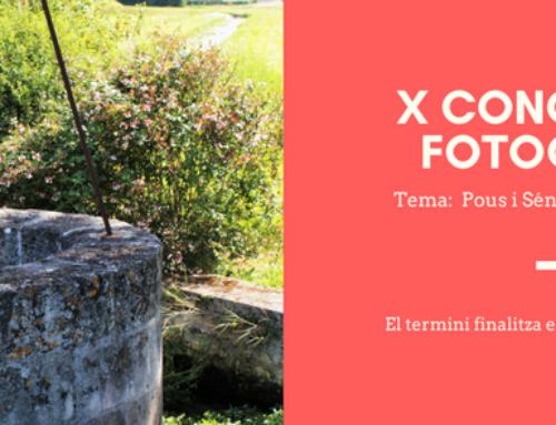 X Concurs de fotografia 2017
