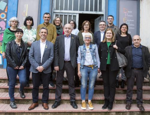 Visita del Conseller d'Educació Josep Bargalló i Valls