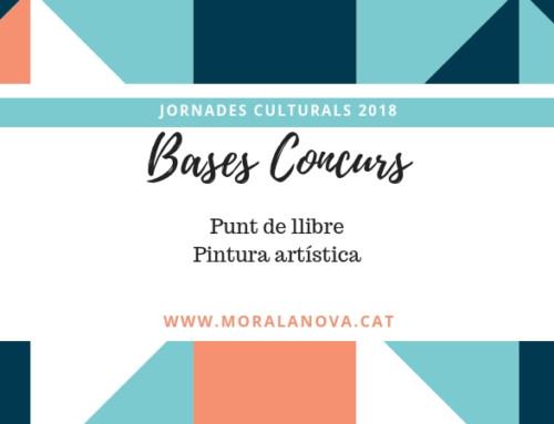 Bases dels concursos de punts de llibre, pintura artística 2019