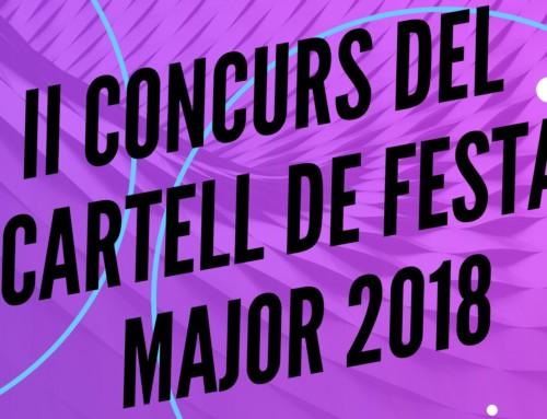 II Concurs del cartell de Festa Major